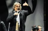 Beppe Grillo, leader of the Movimento 5 Stelle, Five Star Movement